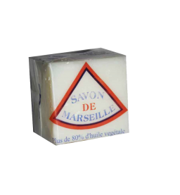 MARSEILLE Laundry Soap 400g - White-Blue-Brown