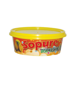 SOPURE Dish Washing Paste 400g - Apple - Lemon
